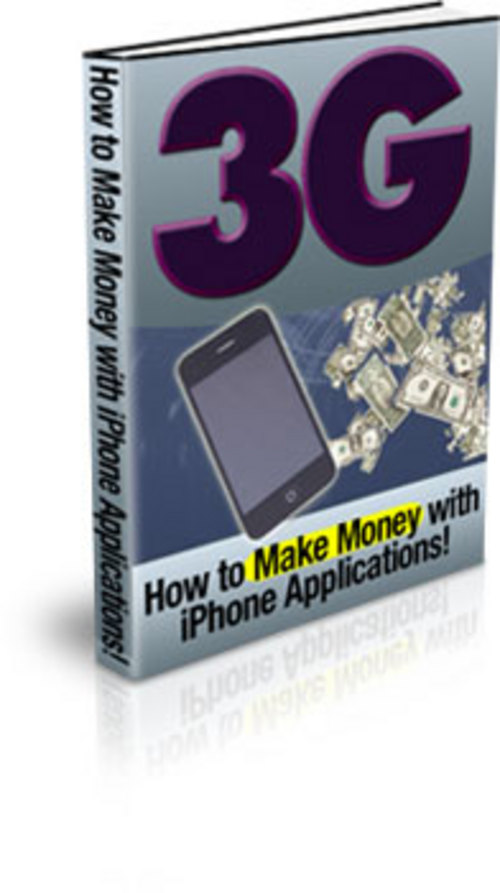 Product picture How To Make Money With I-Phone Applications (PLR)