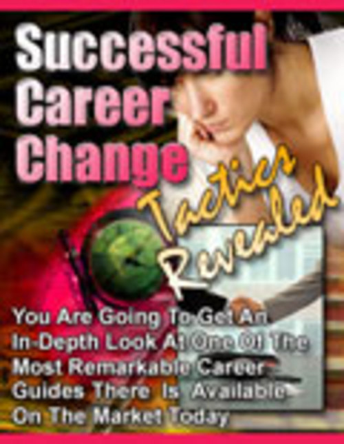 Product picture Successful Career Change (PLR)